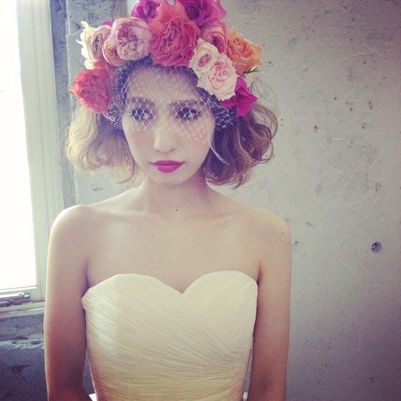 結婚式にはボブがかわいい!真似したい花嫁アレンジカタログのサムネイル画像