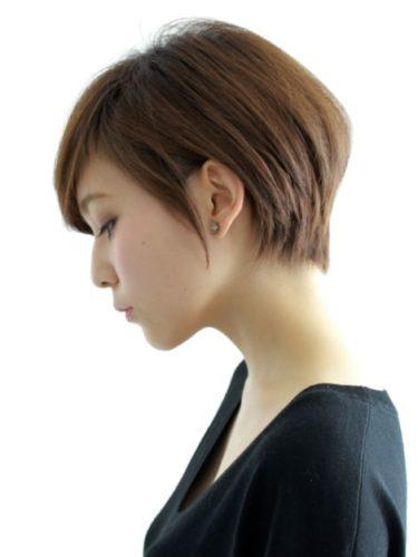40代からのヘアスタイルは、大人らしいショートボブに決まりかも!のサムネイル画像
