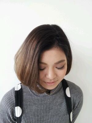 オシャレ度がグンとアップ!ショートヘアのグラデーションカラーのサムネイル画像