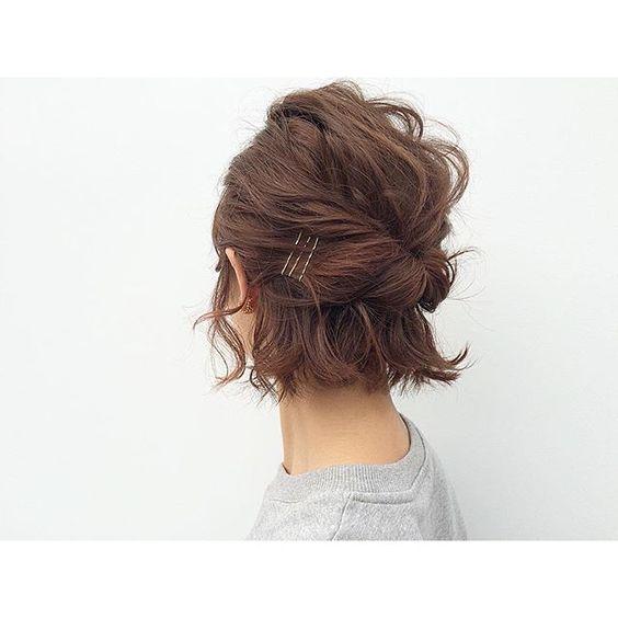 【ショートからロングまで】簡単かわいいヘアセットをご紹介のサムネイル画像