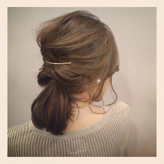 可愛い髪の毛アレンジ方法♡くるりんぱを使えば初心者さんでも簡単!のサムネイル画像