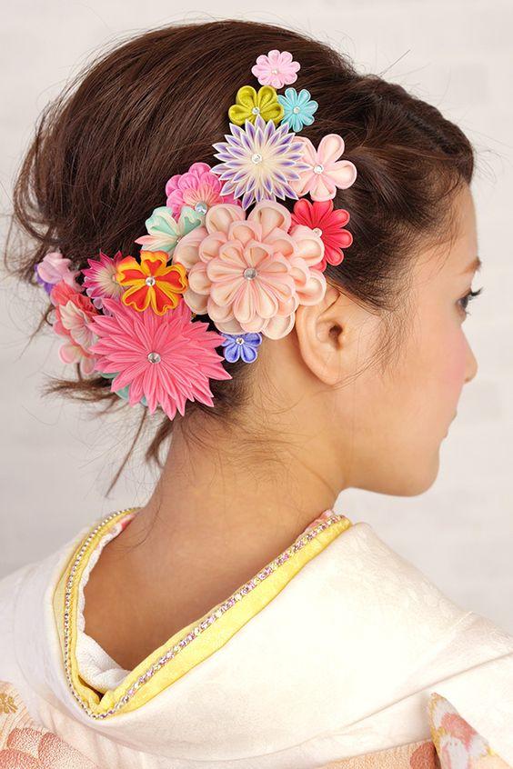 あなたの素敵な姿は、和風の髪飾りでみんなと差を付けちゃおう!のサムネイル画像
