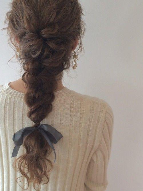 【忙しい朝の味方☆】簡単アレンジまとめ~髪の毛の長さ別編~のサムネイル画像