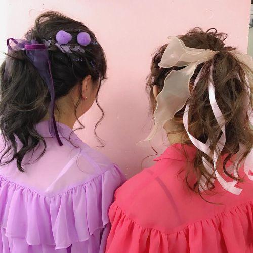女の子の夢詰め込まれてます!ハートとリボンを操る2人の美容師♡のサムネイル画像