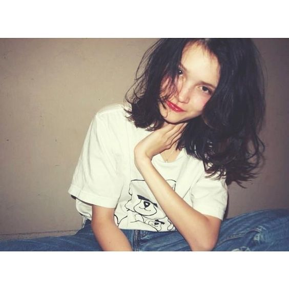 黒髪だから良いんです♡便利で可愛いミディアムヘアを楽しもう!!のサムネイル画像