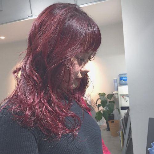 人気の秋色カラーをヘアにも♡《ボルドーカラー》ヘアカタログ♡のサムネイル画像