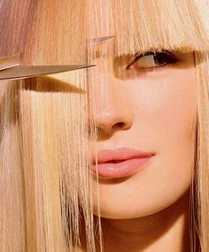 前髪だけお家で切りたい!簡単にできるぱっつん前髪の切り方♡のサムネイル画像