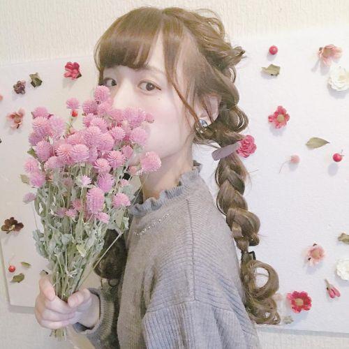 """""""キュン""""としちゃう新髪色♡【ドライフラワーカラー】愛されガールのサムネイル画像"""