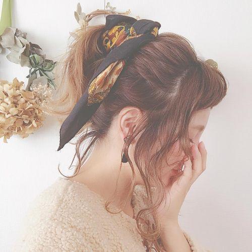 明日から簡単にこなれヘア♡レングス別【冬のヘアアクセサリー】4選のサムネイル画像