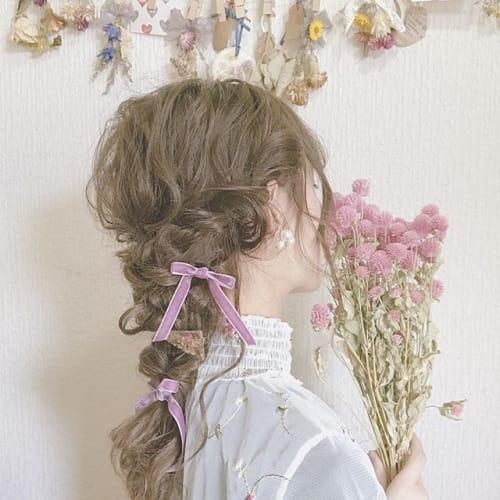 不器用さんでも安心!?今は【おくれ毛ヘア】がオシャレ美人なの♡のサムネイル画像