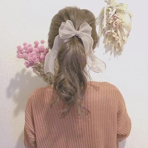 私をもっと可愛くプロデュース♡髪色別・私に似合う【ヘアアクセ】のサムネイル画像