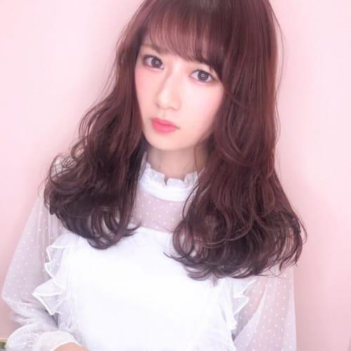 髪から春、先取っちゃお♪《さくら色》で最旬トレンドヘアカラー♡のサムネイル画像