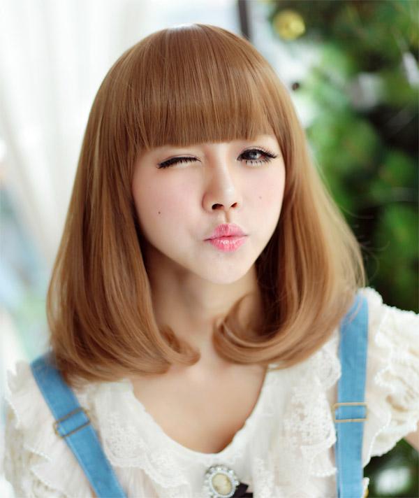 前髪ぱっつん×ボブの相性抜群◎可愛さのある前髪ぱっつんボブ☆のサムネイル画像