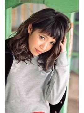 黒髪は前髪ありが可愛い!長さ別におすすめの髪型をご紹介!のサムネイル画像