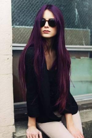 注目の紫系ヘアカラーのモーブ系ってどんなヘアカラーなの?のサムネイル画像