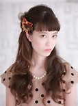 大人っぽく上品に!ハーフアップで髪型を可愛くおしゃれにアレンジ♡のサムネイル画像