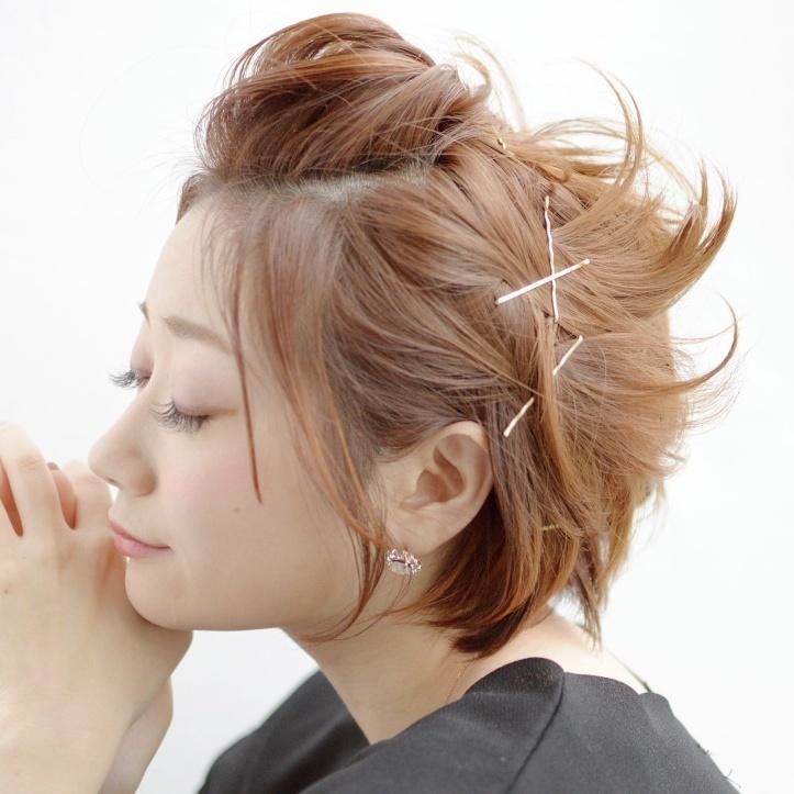 ショートヘア限定!とっても簡単なアレンジで1週間可愛く過ごそう♡のサムネイル画像