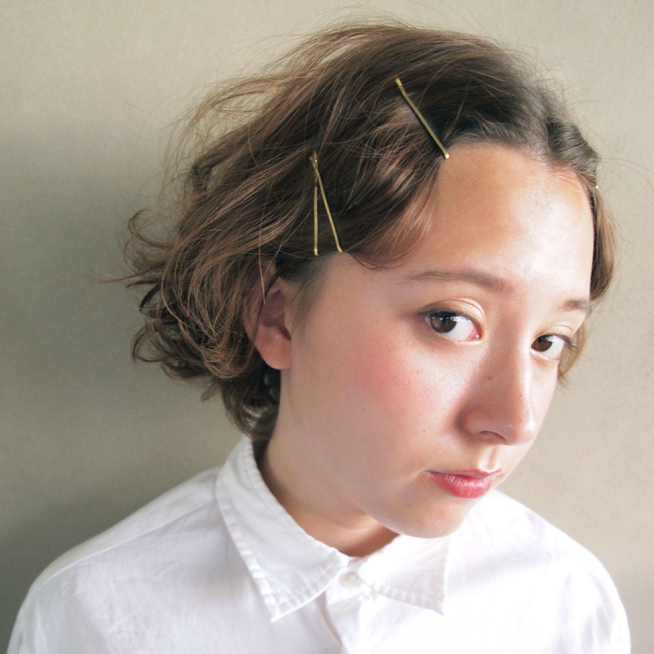 ピンがあればOK♡初心者さんも簡単に出来る前髪の上げ方をチェックのサムネイル画像