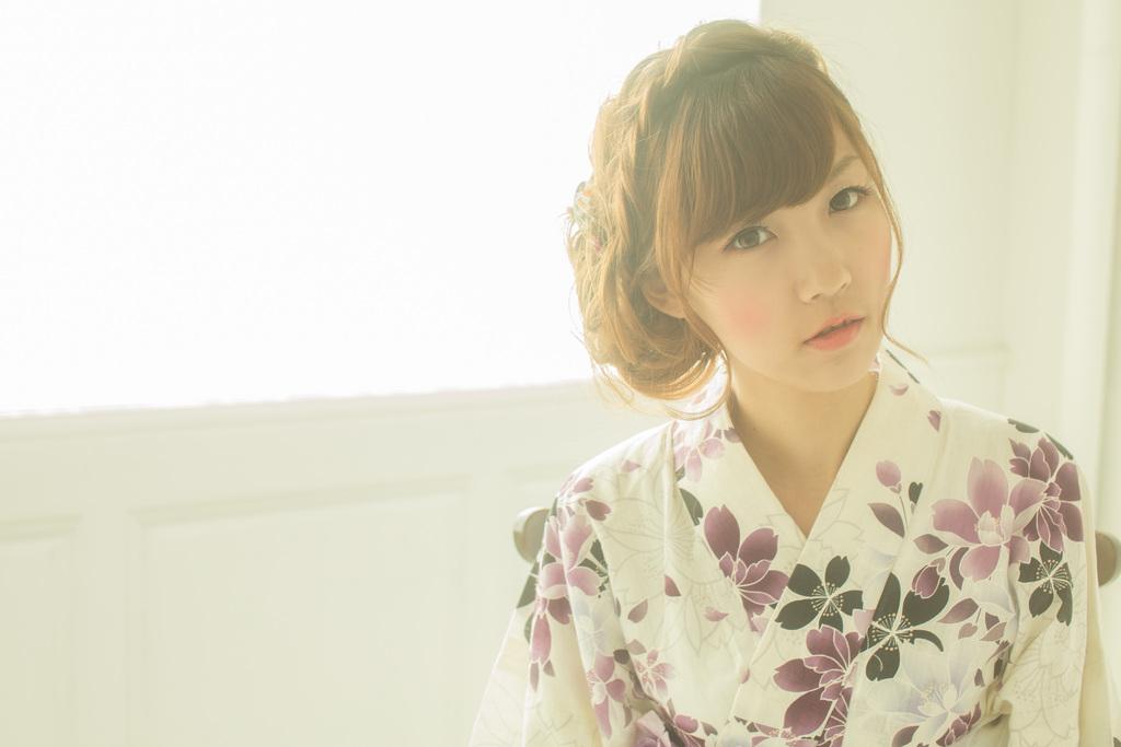 浴衣の季節夏まで待てない♡セミロングの髪型まとめました♡のサムネイル画像