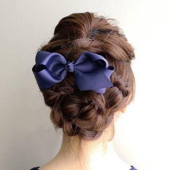 可愛い編み込みで、ステキな髪型に‼まとめ髪や変わり編み込み等のサムネイル画像