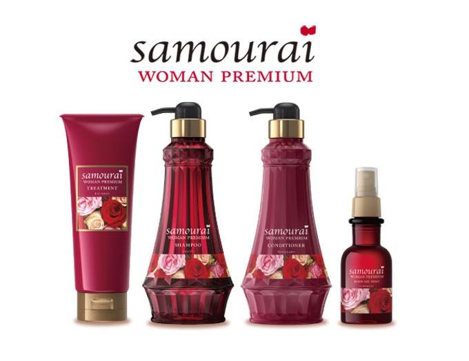 日本人の美しさに寄りそうサムライシャンプーの香りが魅力的と人気☆のサムネイル画像