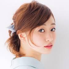 伸ばしかけショートヘアのアレンジ術♪前髪・編みこみ・ハーフアップのサムネイル画像