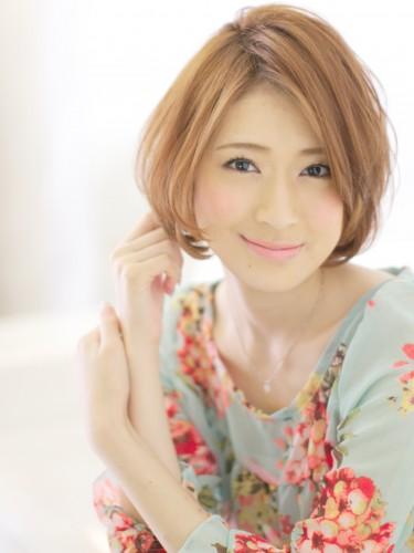 小顔見せNo.1ヘアスタイル♡大人可愛い前髪長いショートヘア特集のサムネイル画像
