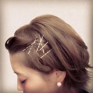 【これは押さえておきたい】そんな可愛いヘアピンってある?のサムネイル画像