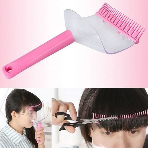 前髪だけお家で切りたい!簡単にできるぱっつん前髪の切り方♡の画像