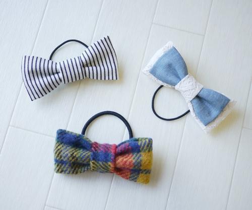 世界に一つ!自分で作る、リボンモチーフのヘアアクセサリーのサムネイル画像