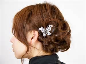 着物を着た時に似合う、簡単な髪型を自分達で挑戦してみませんか?のサムネイル画像