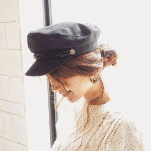 【HOT】ベレーやハット、秋の帽子スタイルに合うヘアアレンジ特集のサムネイル画像