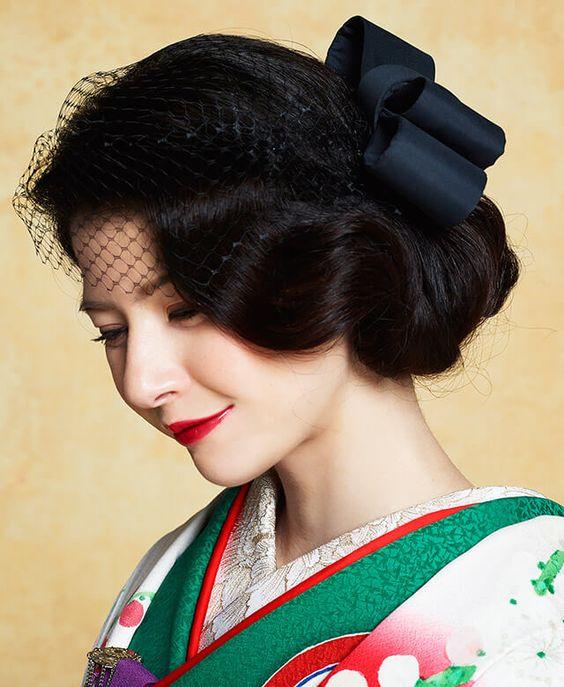 着物のヘアースタイルカタログ♡おすすめヘアースタイル&アレンジ♪のサムネイル画像