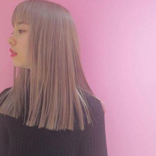 意外とカジュアルな服にお似合い♡ヘアカラーも《ピンク》にTRY!のサムネイル画像