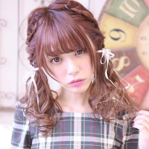 絶対乙女になりたい日に♡【ゆめかわヘアアレンジ】まとめ♡のサムネイル画像