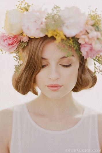 ショートヘアでも諦めないで!!結婚式のショートヘアアレンジ集!のサムネイル画像