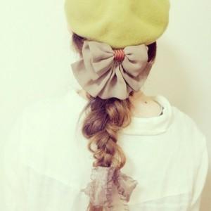 ベレー帽って可愛い☆ベレー帽と合うヘアアレンジをご紹介します!のサムネイル画像