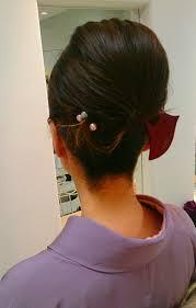 和服でも♡かんざしだけで出来る夜会巻きのやり方♡洋服でものサムネイル画像