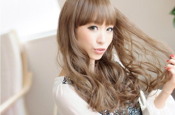 女の子らしくて可愛い!ミルクティーブラウンのモテ髪色カタログのサムネイル画像
