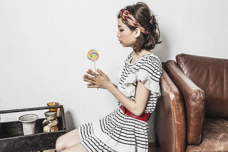 アレンジたくさん♪ヘアバンドを使って簡単におしゃれボブに♡のサムネイル画像