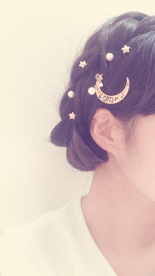 種類豊富!とっても可愛い!手作りヘアアクセサリー☆カタログ。のサムネイル画像