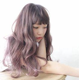 みんなと同じ髪色は嫌!?春は上品カラーのラベンダーの髪色で♡のサムネイル画像