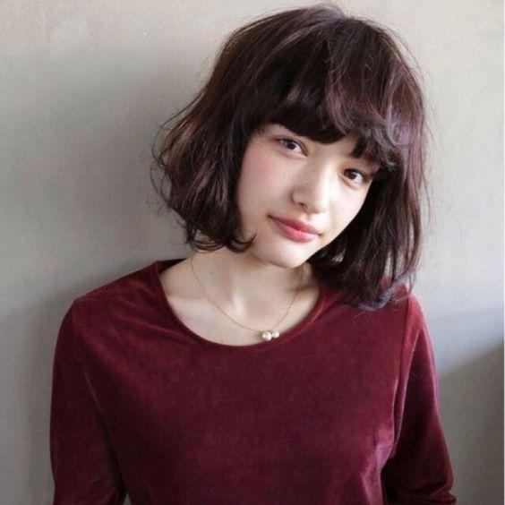髪を染める際の参考に♡茶色系のヘアカラーヘアスタイル厳選集のサムネイル画像