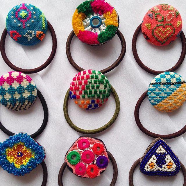 【手作り】くるみボタンのかわいいヘアゴムを作ってみませんか?のサムネイル画像