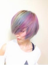 気軽に髪色を楽しめる市販の人気ヘアマニキュアをご紹介しますのサムネイル画像
