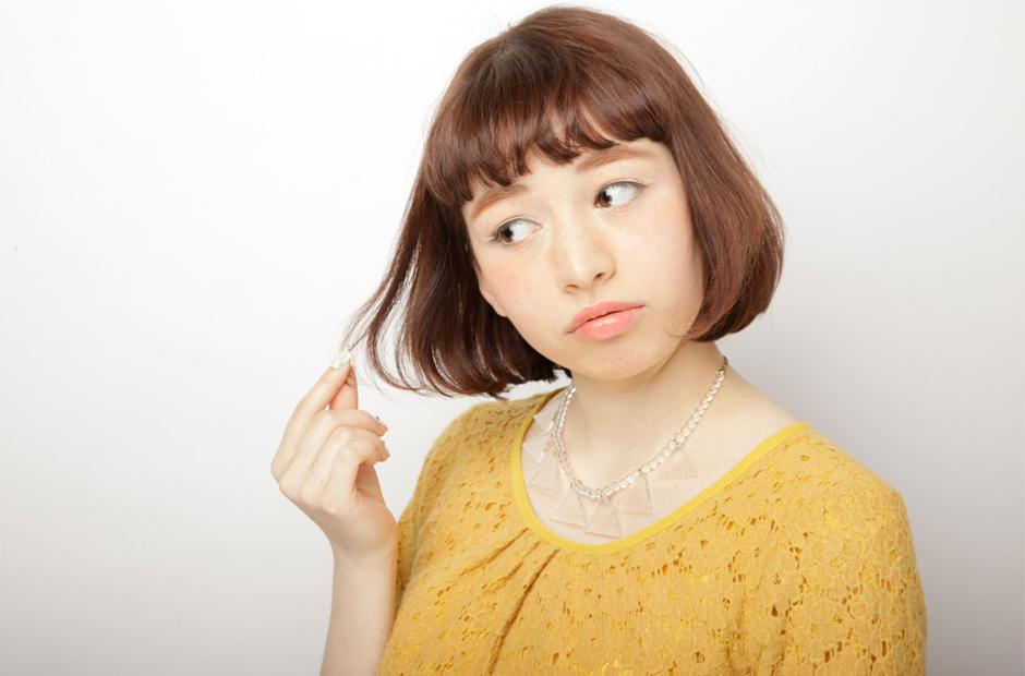 簡単☆前髪を巻いて大人女子に大変身♡前髪の巻き方のまとめ。のサムネイル画像