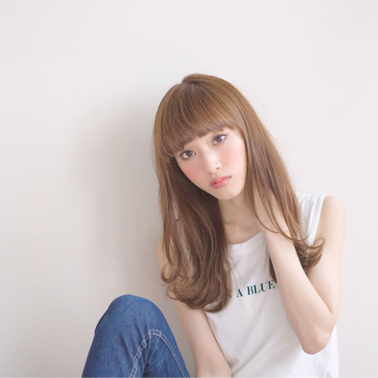 ぱっつん前髪が飽きてきたらアレンジをしてイメージチェンジ♡のサムネイル画像