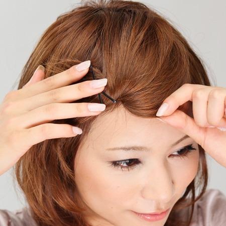 【不器用さんも簡単に】キュートでかわいい前髪アレンジはこれですのサムネイル画像