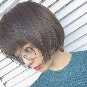 黒髪×ボブで大人かわいい♡魅力あふれるストレートボブ特集の画像