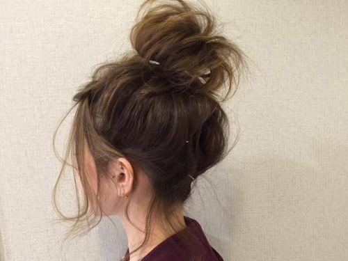 素敵度アップの秘密は前髪なし!普段~結婚式まで行けちゃう髪型8選の画像